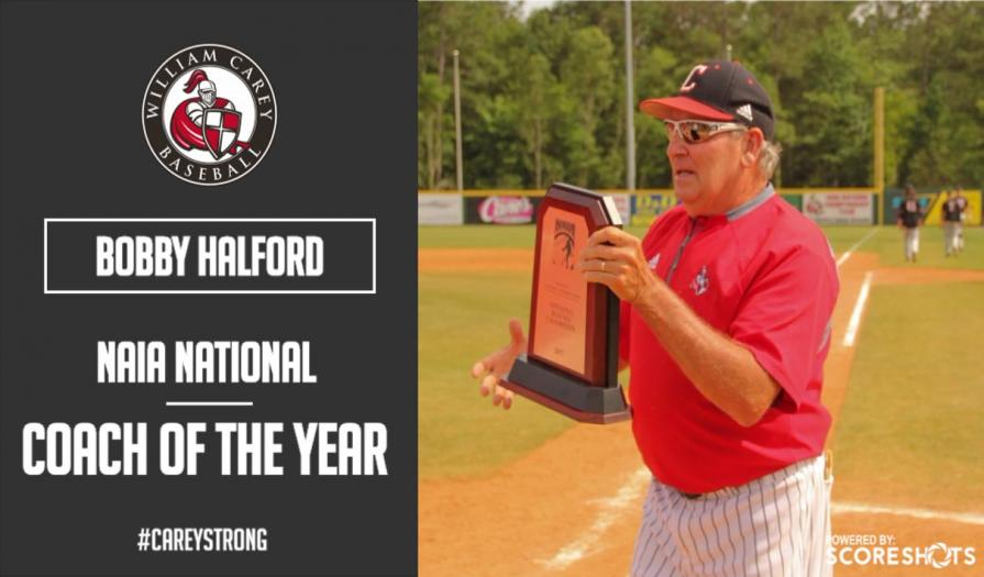 Halford Named 2017 NAIA National Coach of the Year