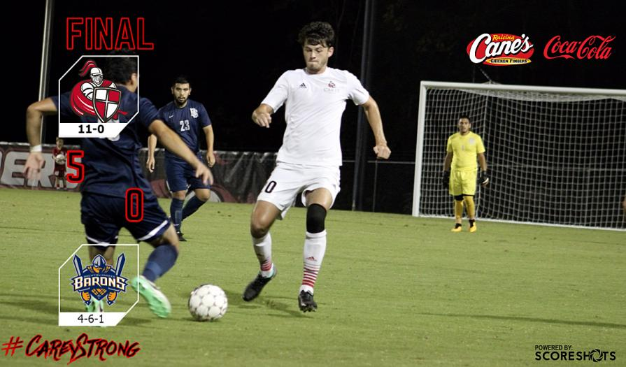 #1 Crusaders Rout Brewton Parker, 5-0